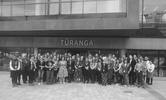 Tūranga staff. Wednesday 10 October 2018. Flickr 2018-IMG_0210