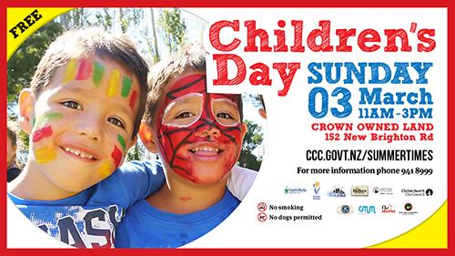 Children S Day Te Ra O Te Tamariki Christchurch City Libraries