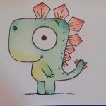 Drawing of Gregorsaurus by Missbeecrafty