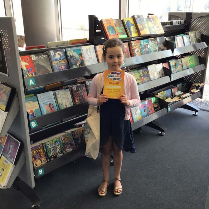 Ava, Summertime Reading Winner