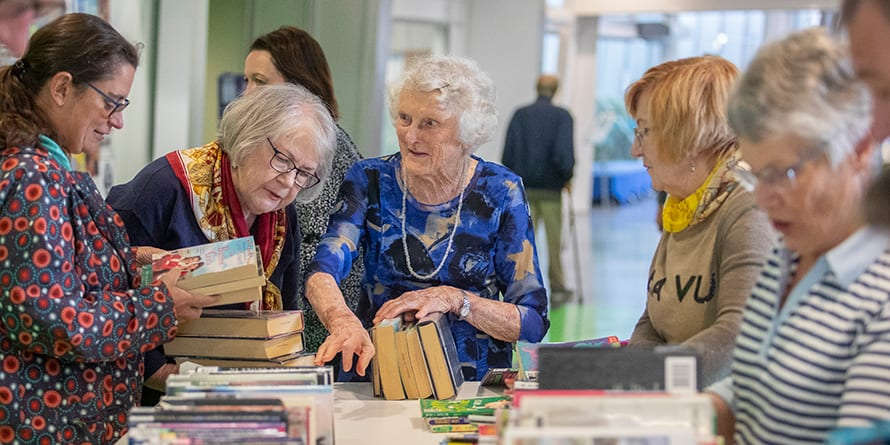 Friends of the Library. Photo credit: Christchurch City Council Newsline