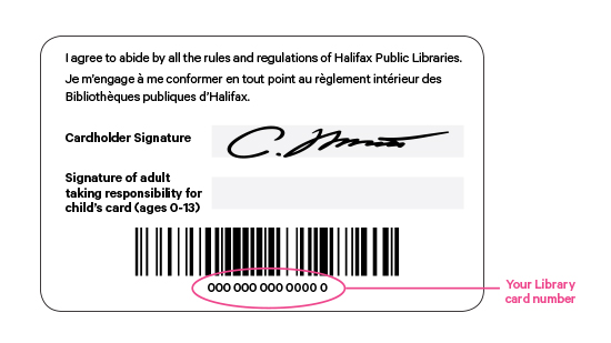 Manage your Account | Halifax Public Libraries
