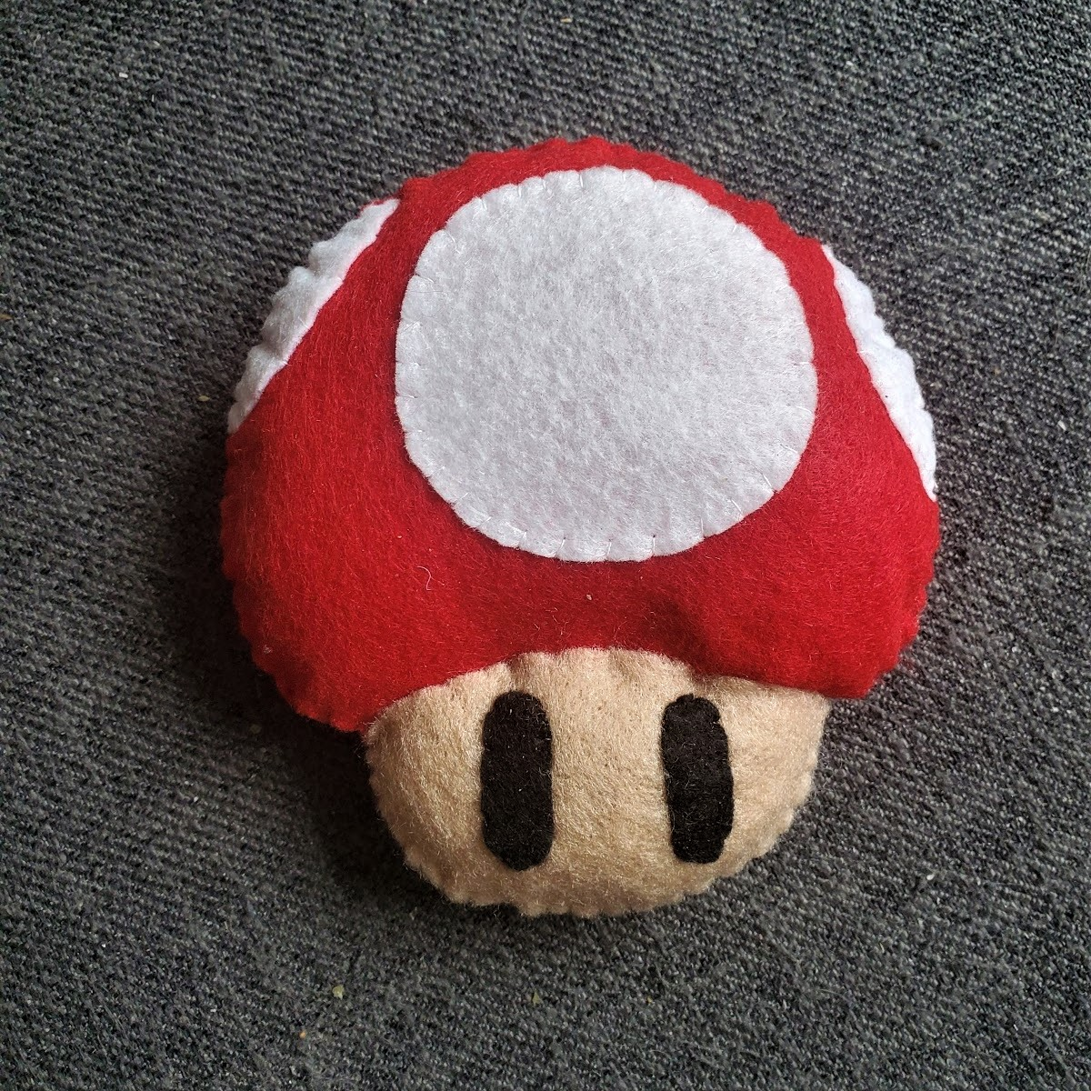 Completed Super Mario Mushroom craft
