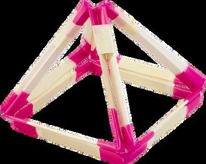 Image of Geometric Shapes final pyramid shape