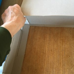 reinforcing puppet theatre corners
