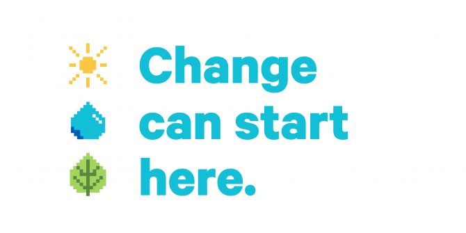 Change can start here.