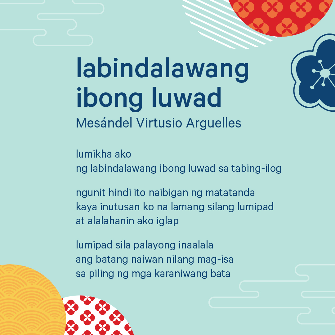 Poem written in Tagalog