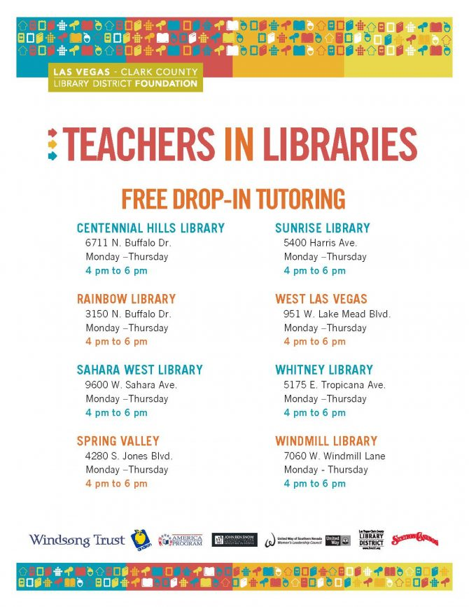 Enjoy the Library from Home – Library District Closure | Las Vegas-Clark County Library District