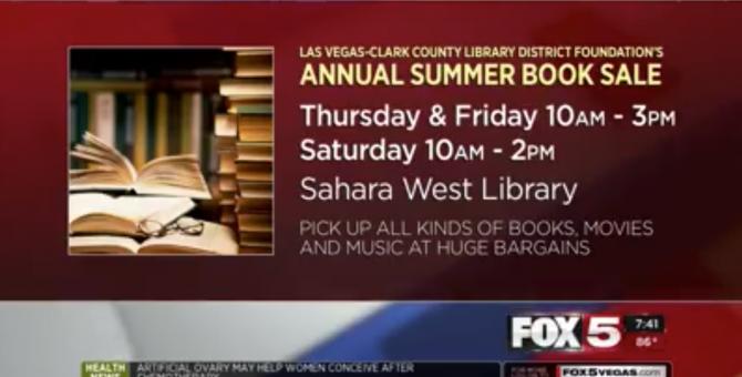 Fox 5 Vegas: Las Vegas-Clark County Library District