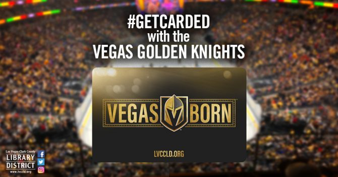NHL com: Las Vegas-Clark County Library District And VGK