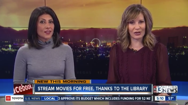 Ktnv Channel 13 Las Vegas Clark County Library District Offers
