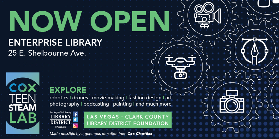 Teens Sharpen Job Skills At The Newly Opened Cox Teen Steam Lab Las Vegas Clark County Library District