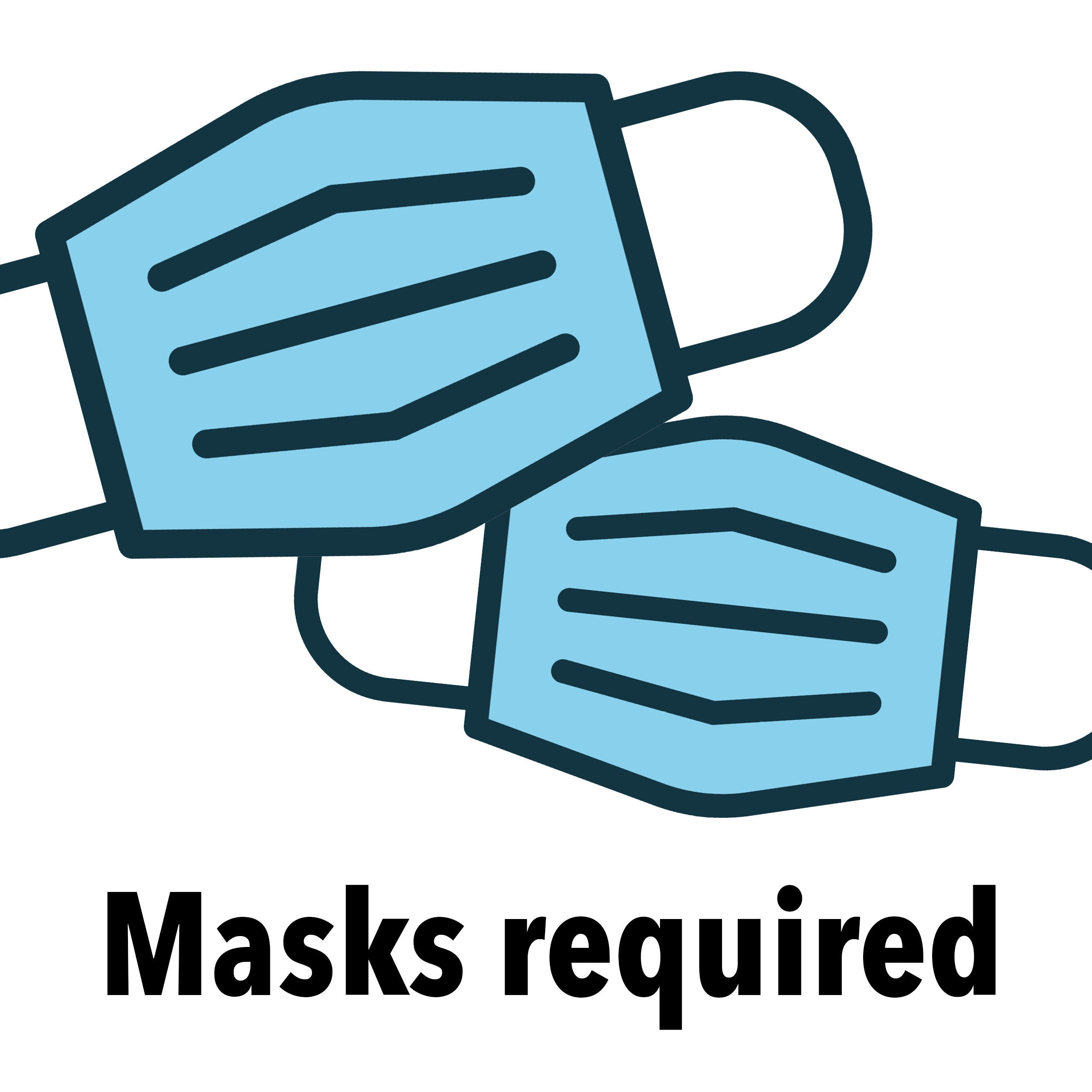 Please wear a mask in the building web graphic 2