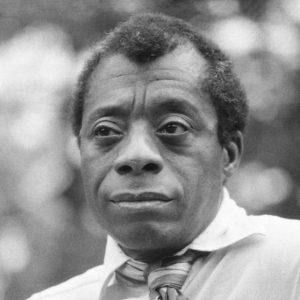 Image is of James Baldwin