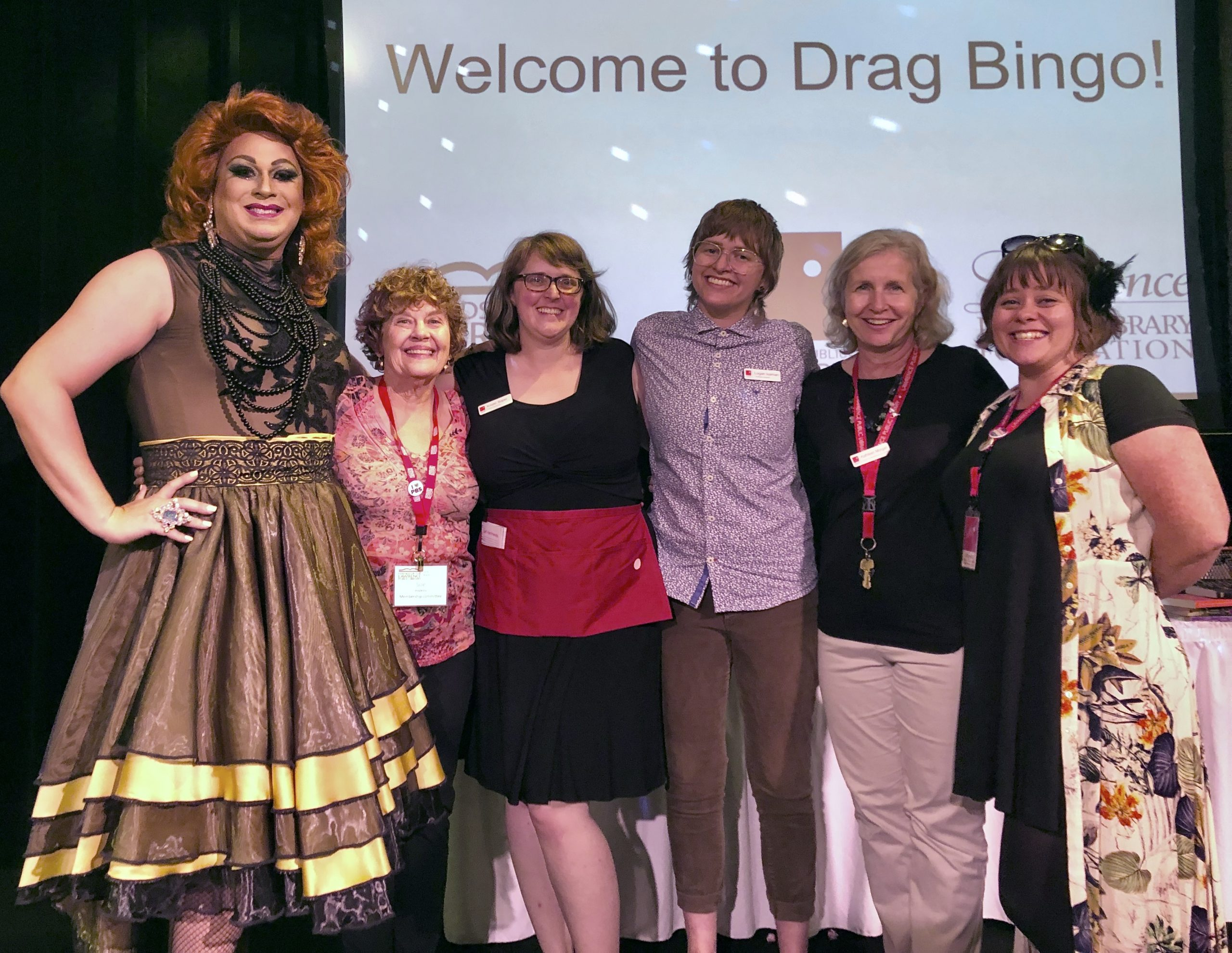Drag Bingo event