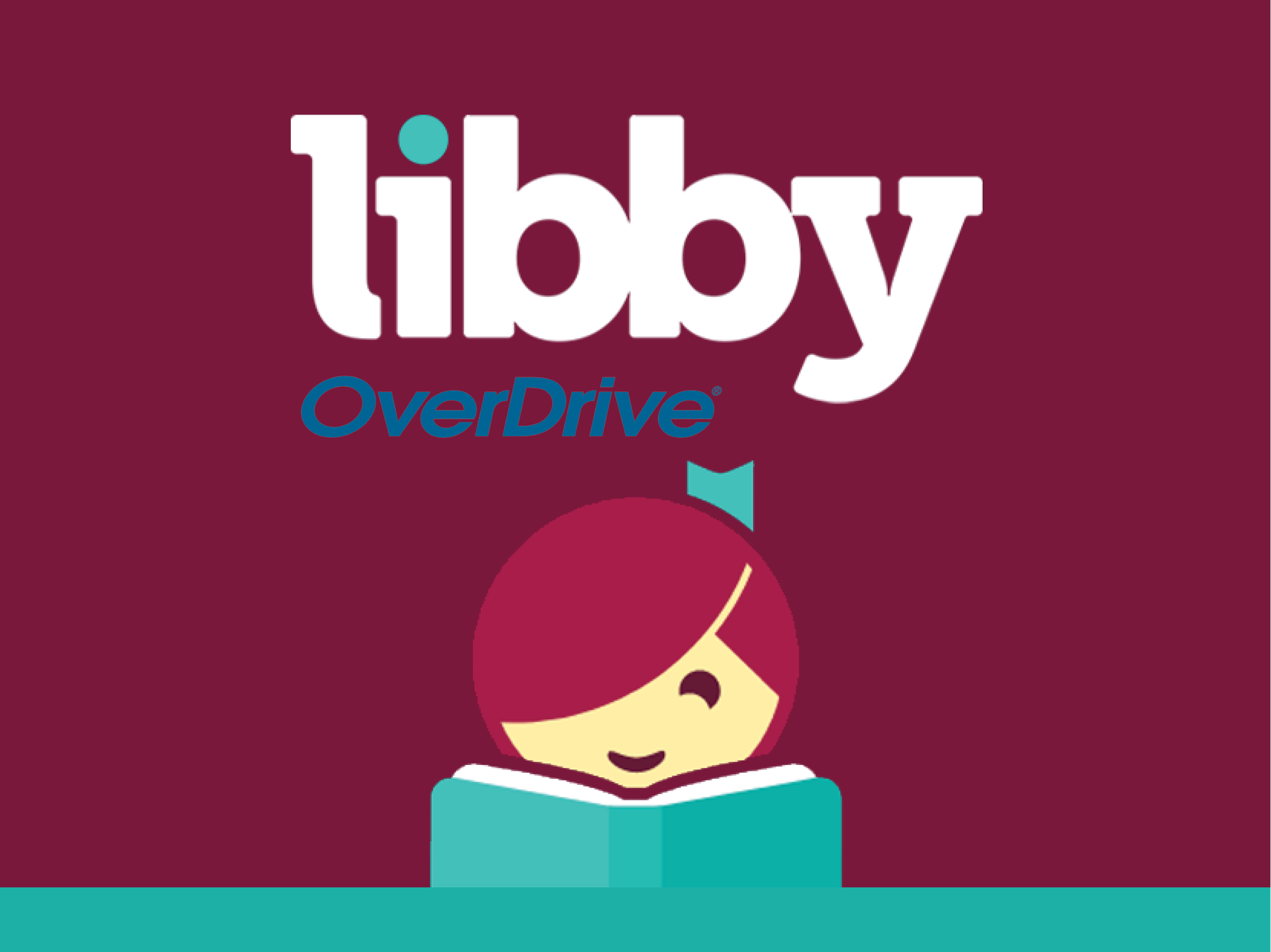 Web graphic for digital library Libby