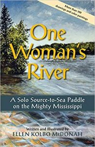 book cover One Woman's River McDonah