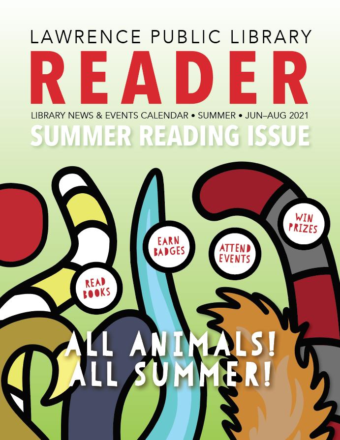 2021 Summer Reader cover