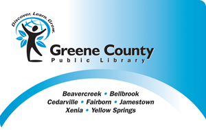 Greene County Public Library card
