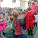 Kids shake their sillies out with Miss Joanne