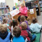 Miss Joanne reads a picture book