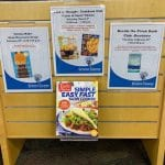 Cedarville Community Library Book Clubs display