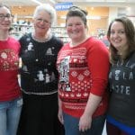 In December of 2018, staff participated in Ugly Holiday Sweater Week.