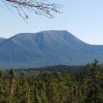 A view of Mount Katahdin.