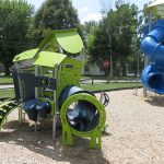 Small play structure at Jamestown Community Park