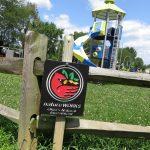 NatureWorks sign at Jamestown Community Park