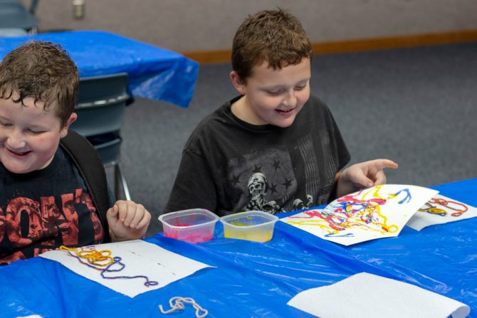Art for All Ages at Xenia Community Library!   Greene County