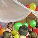 Noon Year's Eve balloon drop