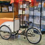 Bookbike in lobby of Library
