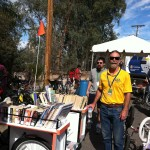 Bookbike at community event