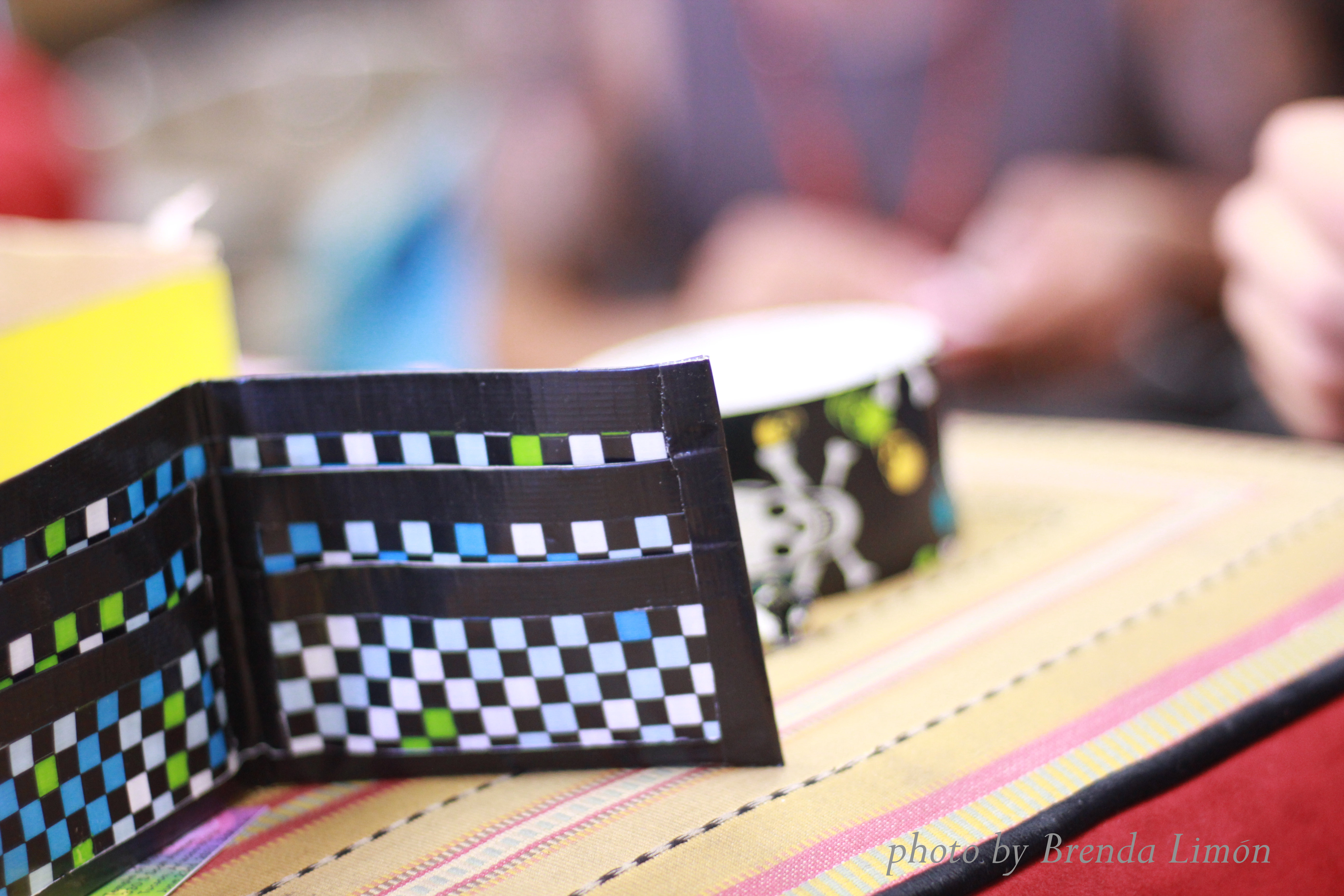 Wallet made from duct tape