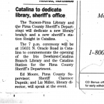 Newspaper article, July 26, 1994
