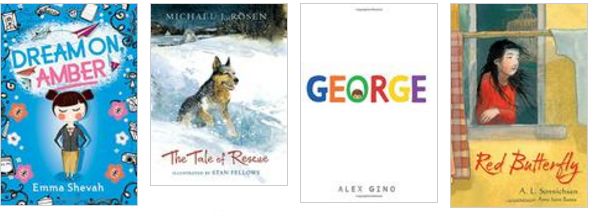 Kirkus Reviews awardees for middle grade realistic fiction