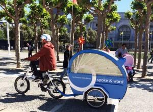 "San Francisco Public Library's ""Spoke & Word"" Bookbike"
