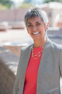Librarian Margie Trujillo-Farmer