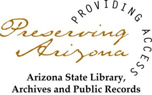 logo for arizona state library