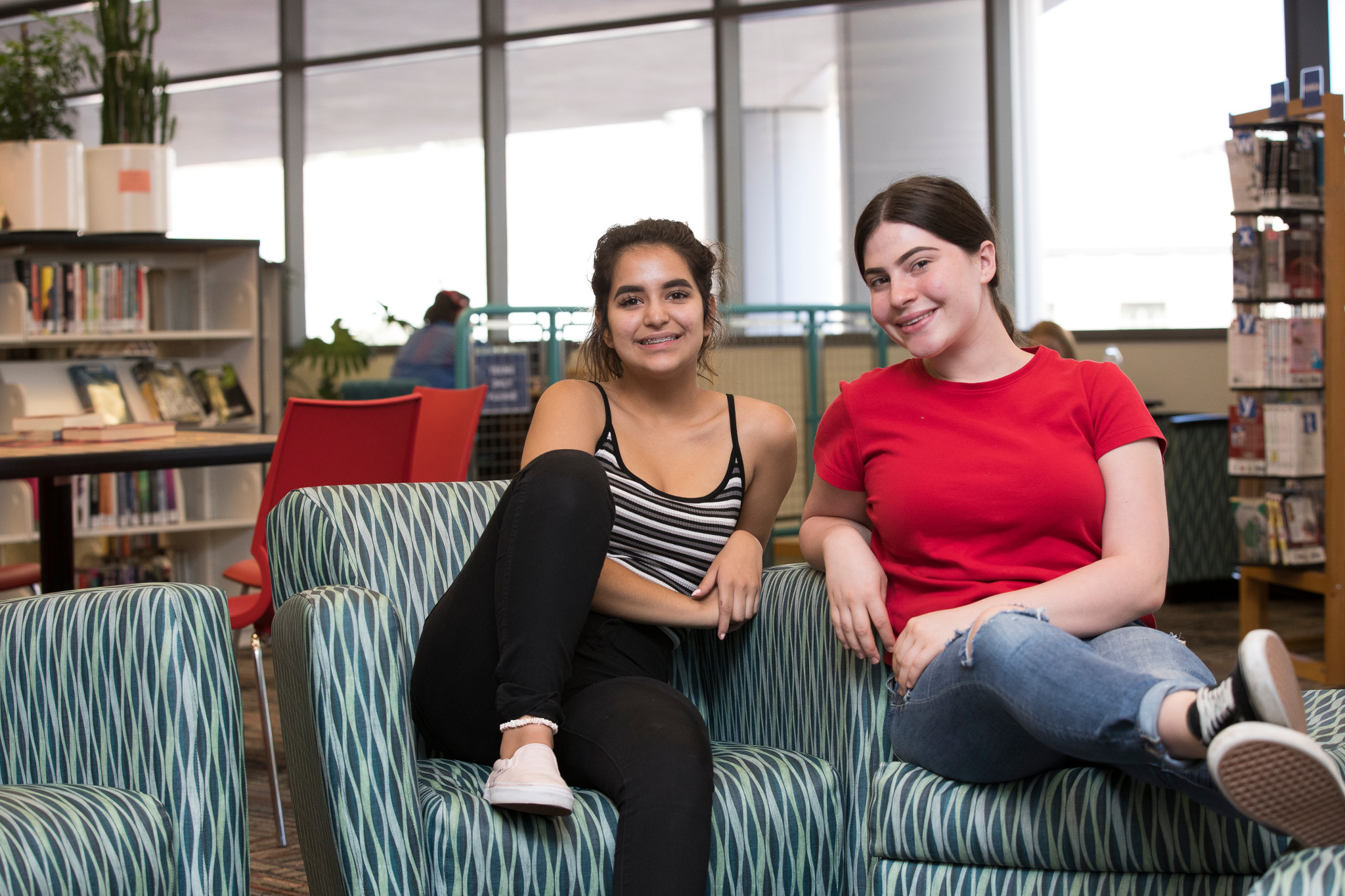 Summer Youth Workers Yasmin and Mina