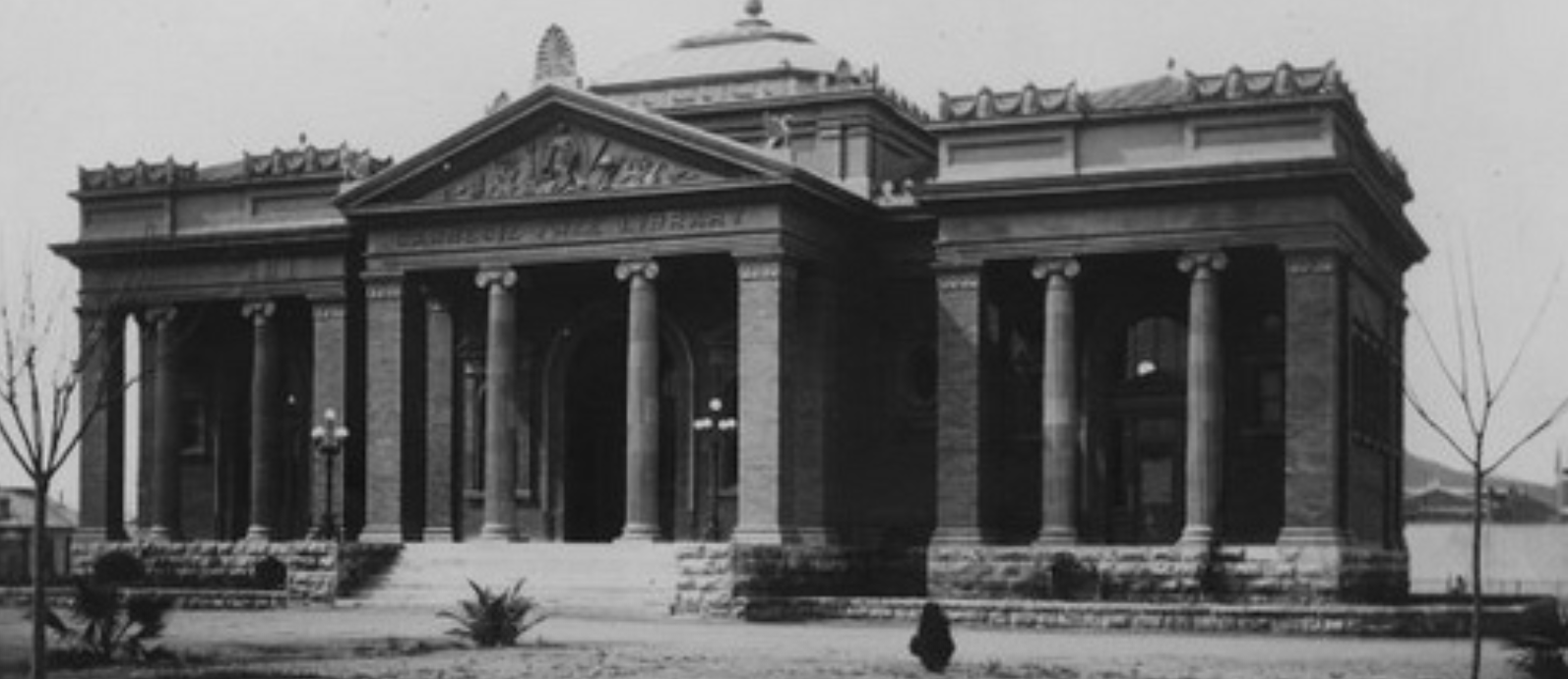 Tucson's Carnegie Library historical photo