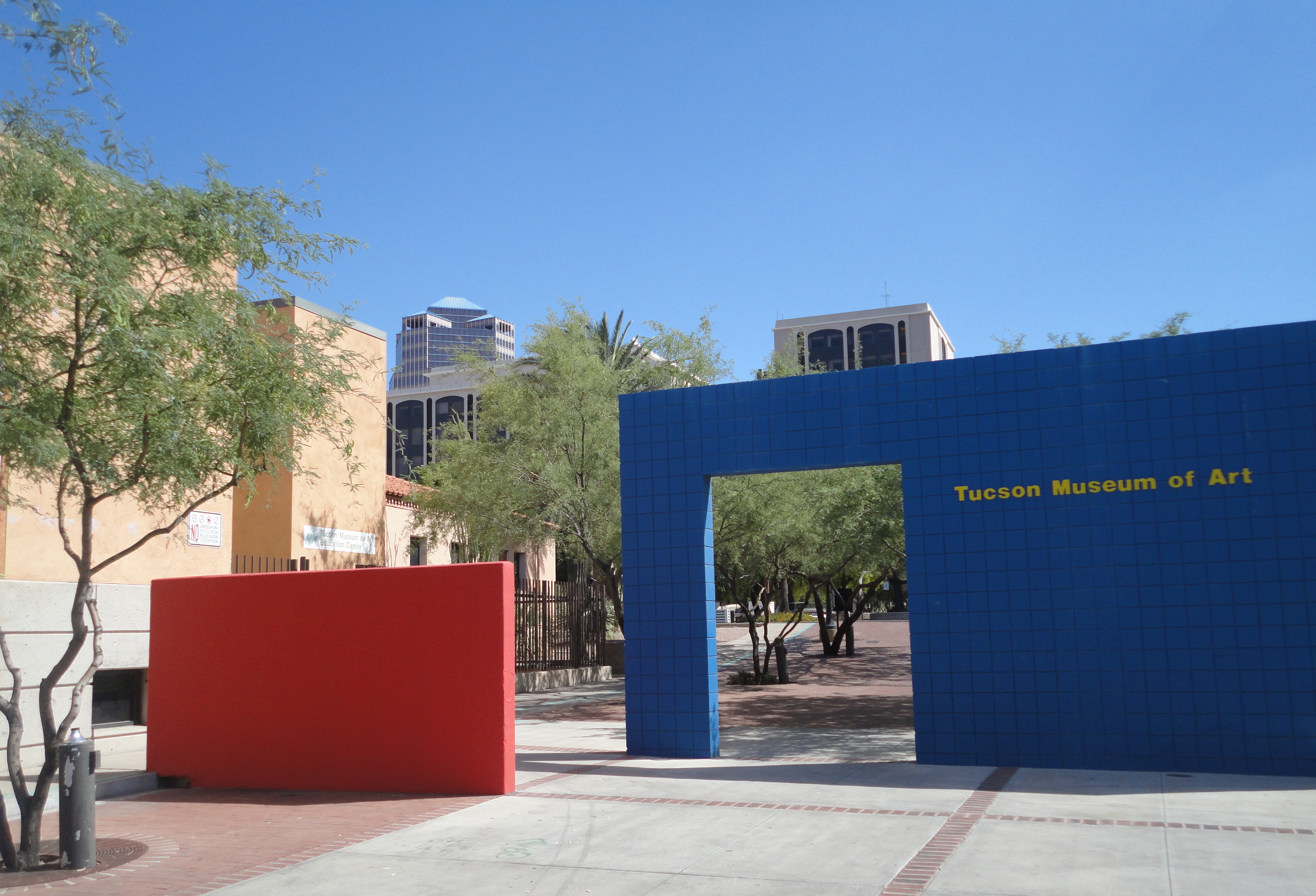 Tucson Museum of Art archway