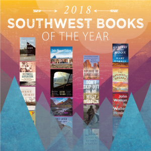 Cover of Southwest Books of the Year 2018 publication