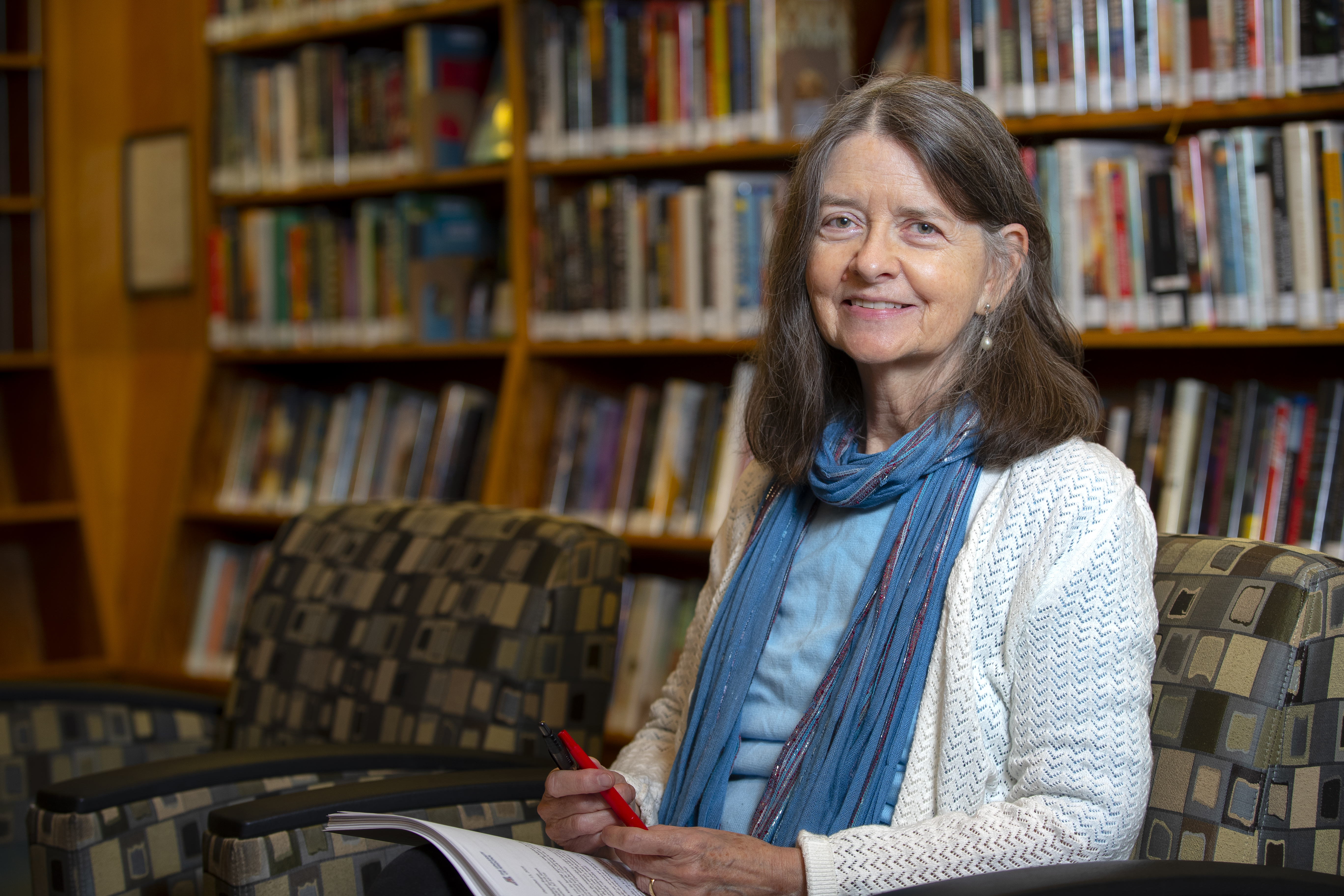 <p>Margaret Regan, writer in residence for the Pima County Public Library. February through April 2020</p>