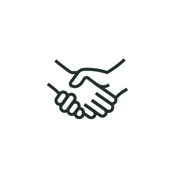 <p>community resources hands clasping icon  </p>