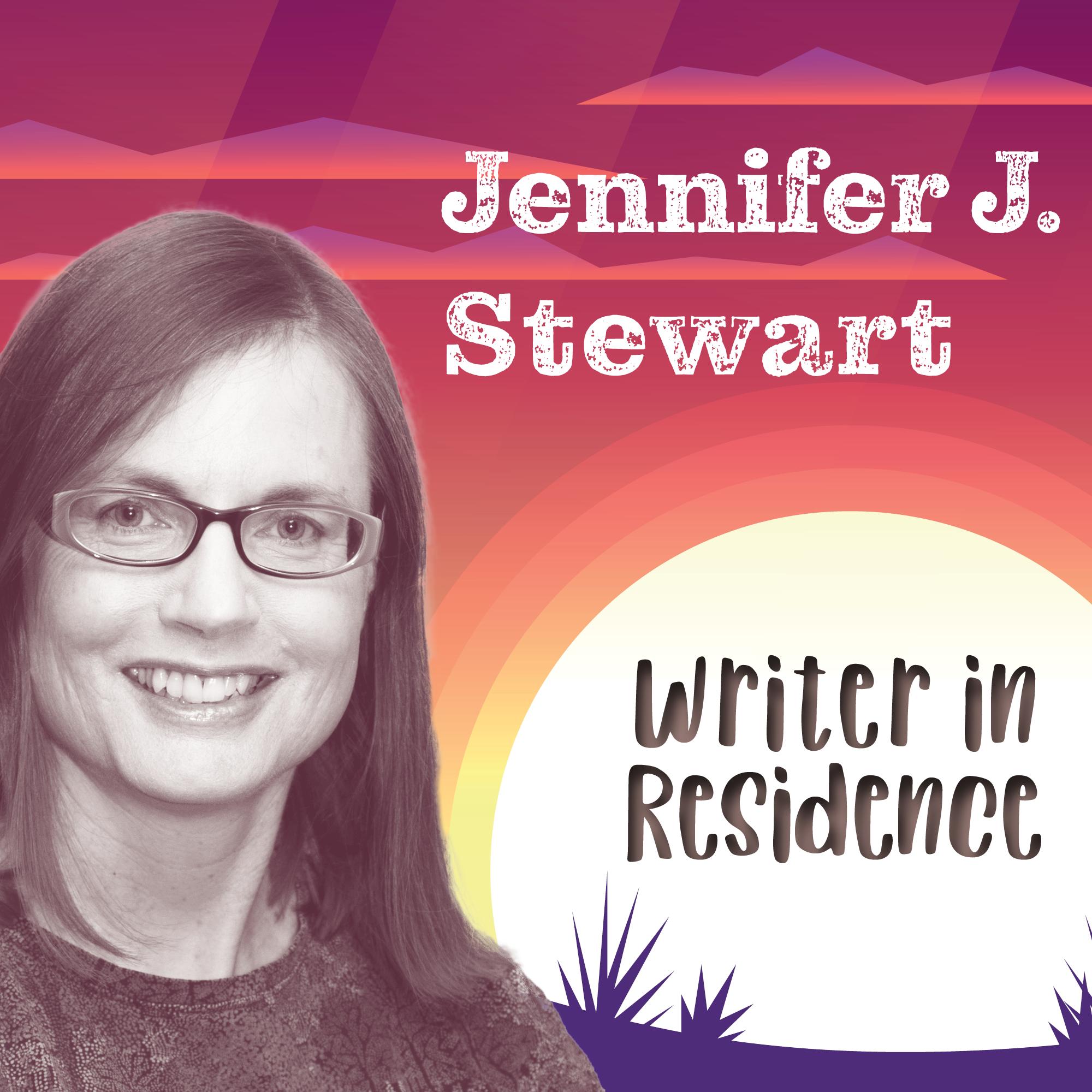 Jennifer J. Stewart writer in residence 480X480