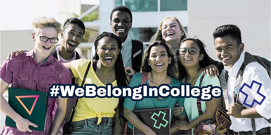 We Belong in College 890X445