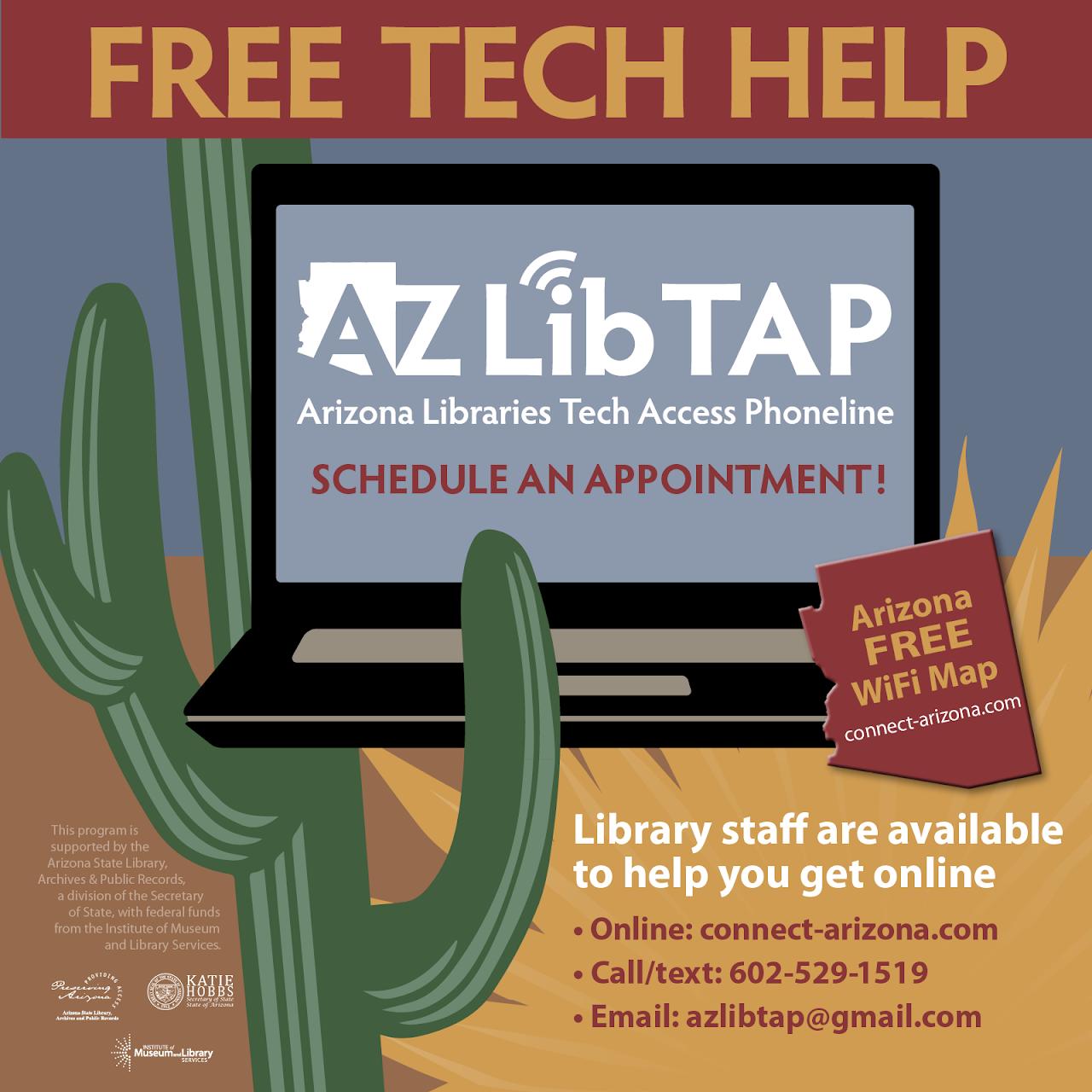 arizona tech help phone line image