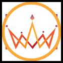 Kindred logo in an orange circle